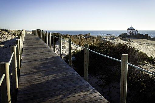 Mar, Beach, Portugal, Beira Mar, Nature, Sand, Surf