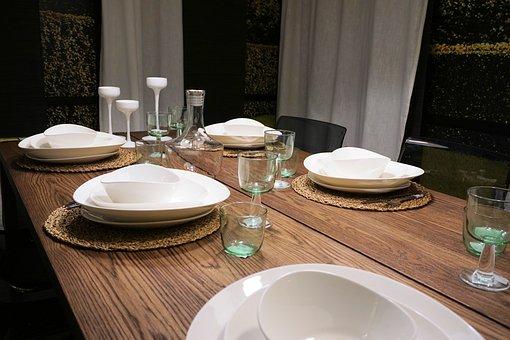 Table, Board, Celebration, Festival, Gedeckter Table