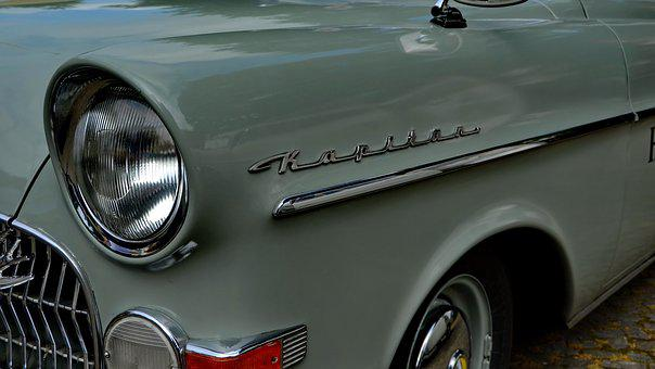 Oldtimer, Opel, Captain, Old, Classic, Auto, Automotive