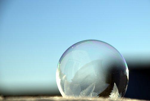 Bubble, Soap Bubble, Iridescent, Colorful, Water