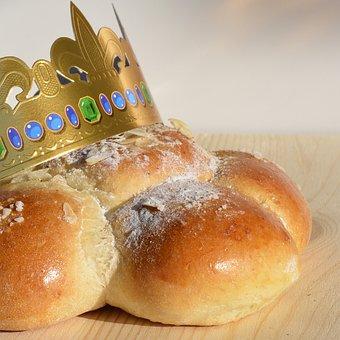 Three King Cake, Custom, Tradition, Crown, Search, Fig