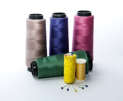Sewing, Seamstress, Crafts, Clothes, Lines, Reel