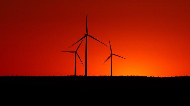 Environmental Technology, Current, Windräder