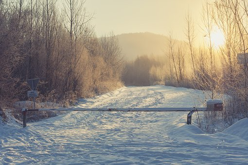 Road, Snow, Winter, Landscape, Cold, Snowy, Away