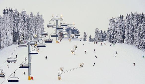 Winterberg, North Slope, Hochsauerland, Ski Lift