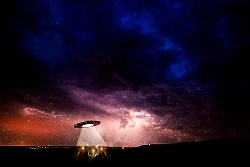 Ufo, Science Fiction, Alien, Futuristic, Spaceship