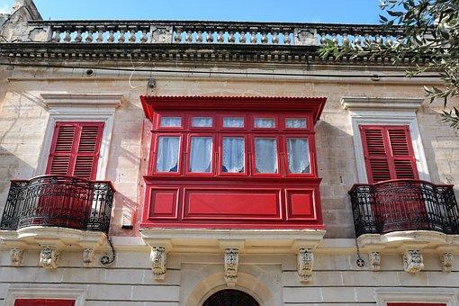 City, Malta, Home, Building, Architecture, Construction