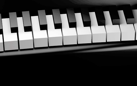 Piano, Keys, Piano Keyboard, Keyboard Instrument