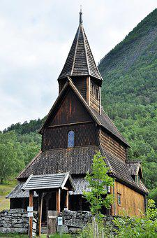 Stave Church, Norway, Places Of Interest, Wooden Church
