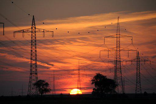 Current, Reinforce, Energy, Sunset, Power Line