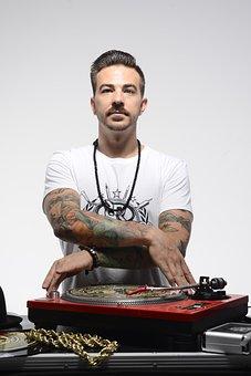 Dj, Turntable, Scratch, Hip Hop, Culture, Young Man