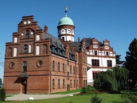 Wiligrad, Castle, Schwerin, Architecture, Construction