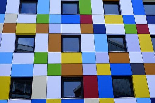 Facade, Hotel, Tuttlingen, Colorful