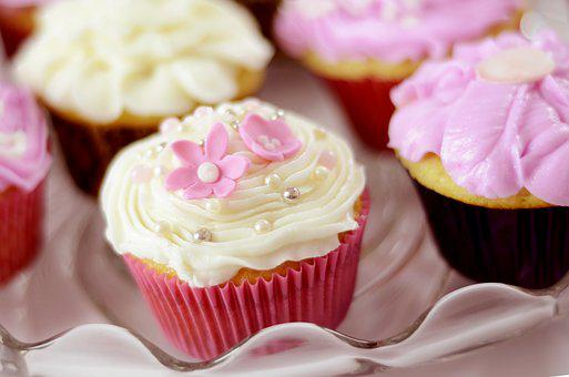 Cup Cakes, Treats, Bakery, White, Delicious, Holiday