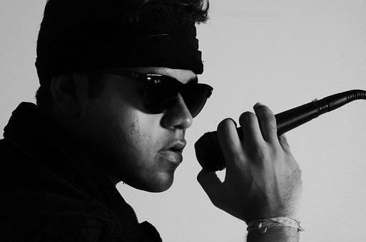 Man, Cazuza, Singer, Music, Studio, Sing, Microphone
