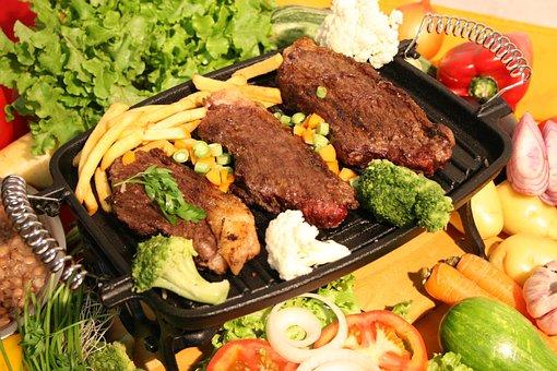 Food, Gastronomy, Meat, Tasty, Dinner, Restaurant, Meal