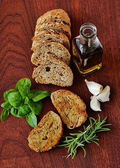 Olive Oil, Mediterranean, Basil, Rosemary, Garlic