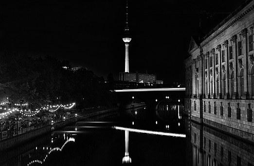 Berlin, Alexanderplatz, Tv Tower, Capital, Germany