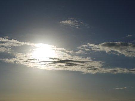 Clouds, Morgenstimmung, Back Light, Sun, Morning, Mood