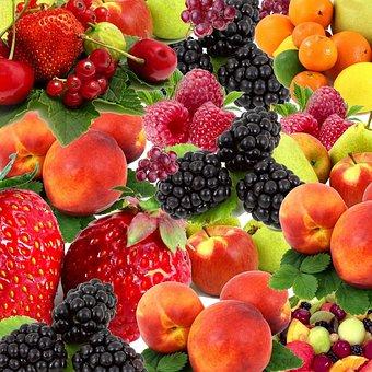 Fruit, Fruits, Fruit Mix, Nature, Health, Colourful