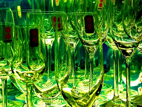 Glasses, Champagne Glasses, Champagne, Drink