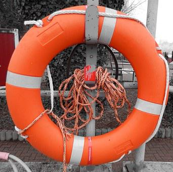 Lifebelt, Drowning, Non Swimmers, Emergency, Not