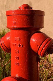 Hydrant, Water, Red, Water Hydrant, Fire, Delete