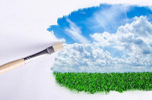 Paintbrush, Outdoor, Sunlight, Wallpaper, Clear