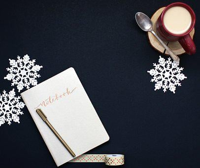 Winter, Christmas, Holiday, Coffee, Xmas, Desk