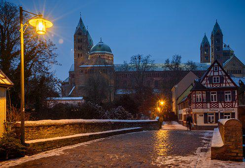 Speyer, Dom, Rhine, City Of Speyer, Historically