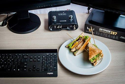 Sandwiches, Computer, Keyboard, It, Equipment, Writing