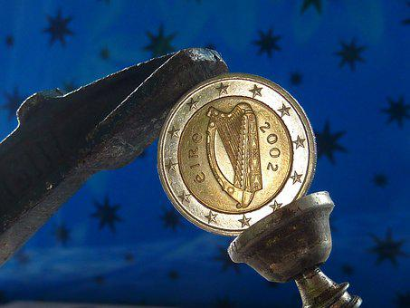 Euro, Currency, Ireland, Negative Pressure, Finance