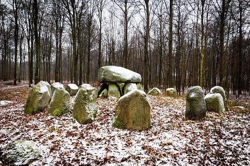 Viking, Burial, Stone, Grave, Ancient, History