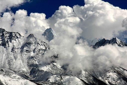 Himalayas, Cloud Mood, Mountains