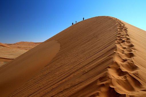 Namibia, Desert, Sossusvlei, Sand, Sand Dune, Africa