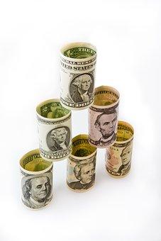 Money, Dollar, Finances, Financial Pyramid, Credits