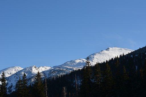 Tatry, Sky, Kasprowy Wierch, The High Tatras, Landscape