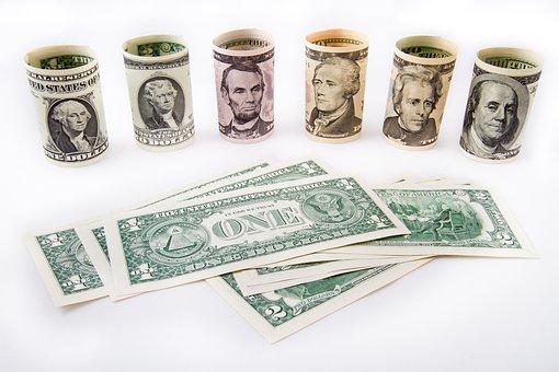 Dollar, Money, Cash Money, Currency, Finances, Bank