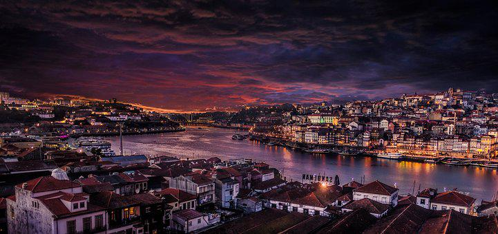 Porto, City, Portugal, Historic City, Rio, River Douro