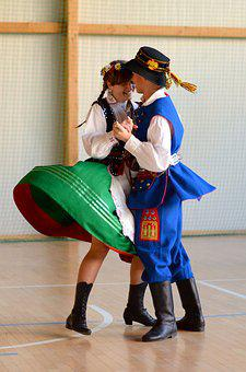 The Tradition Of, Dance, Poland, Clothing, Traditional