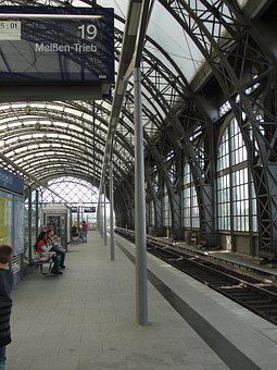 Station Dresden, Central Station, Architecture, Steel