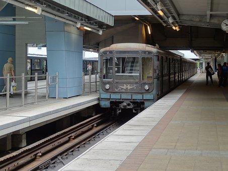 Subway, Metro, Budapest, Hungary, Underground