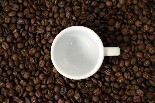 Coffee, Cup, Coffee Cup, Coffee Beans, Empty Cup, Beans
