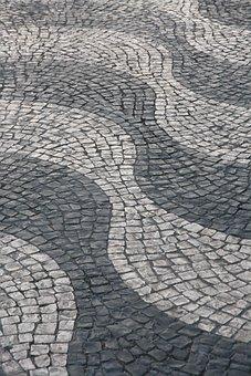 Revetment, Street, Square, Lisbon