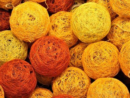 Yarn, Balls, Cord
