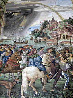 Hers, Libreria, Silvio Piccolomini, Fresco, Renaissance