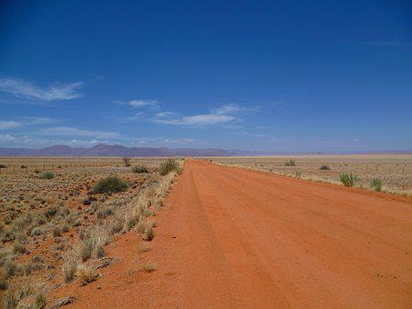 Horizon, Endless, Road, Distance, Desert, Loneliness