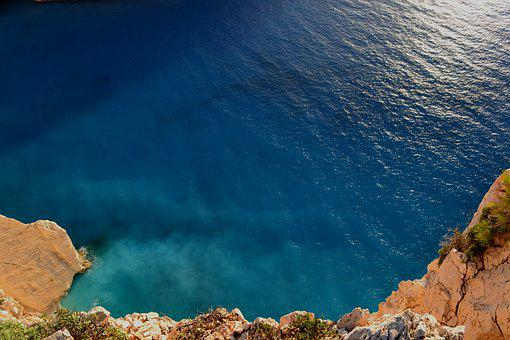 Water, Sea, Zakyntos, Zakhyntos, Greece, Sky, Nature