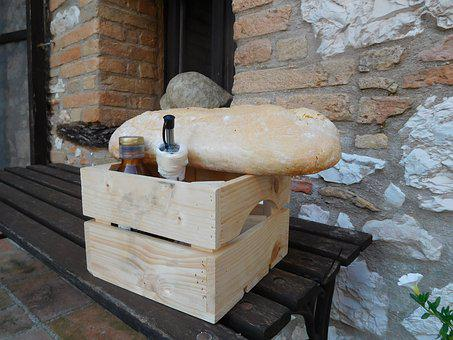 Italy, Bread, Oil, Salt, Welcome