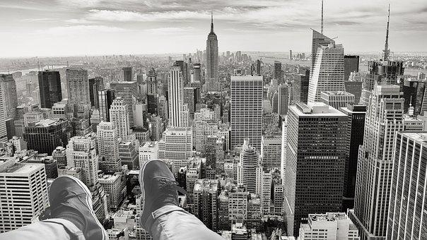 New York, Ny, Manhattan, Skyscraper, City, Usa, Skyline